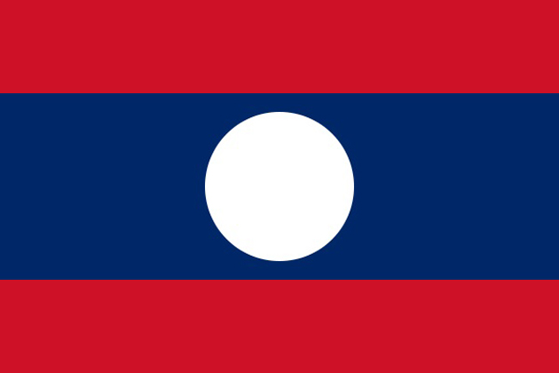 Laos National Flag, Symbols & Emblem
