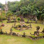 Buhhda Park in vientiane laos tours