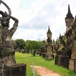 Buddhism statue in Laos, Laos Packages