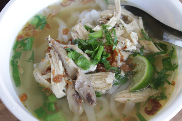 Laos Noodle Soup Khao Piak Sen, Laos Vacations