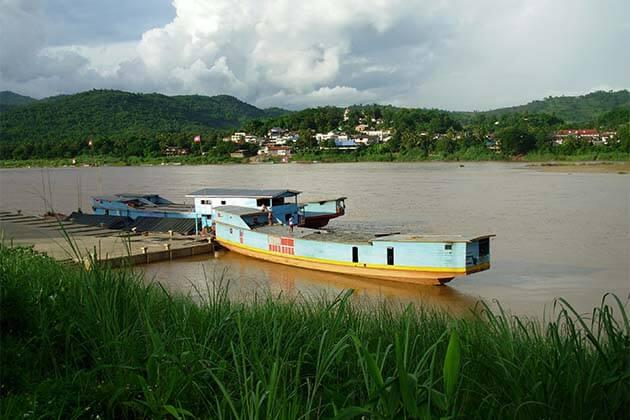 Mekong river, Laos Trips