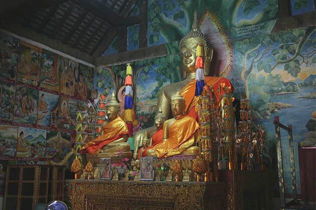 Wat-Aham, Luang Prabang package