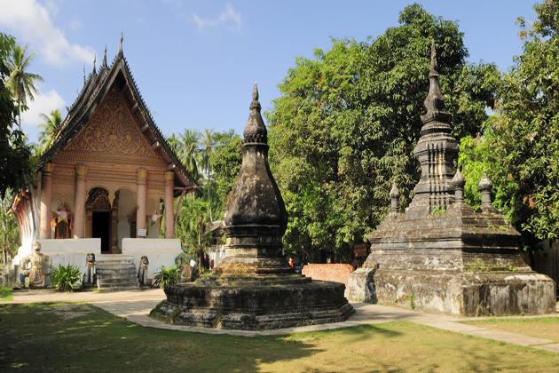 Wat Aham luang prabang tours