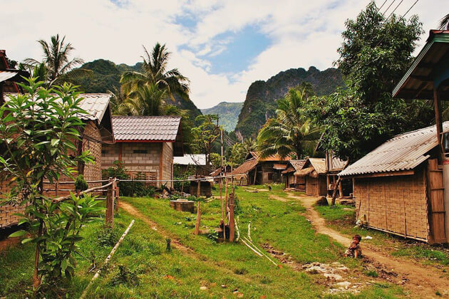 Laos Village, Laos trip