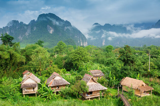 traditional villages laos tours