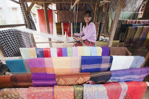 unique laos silk go laos tours