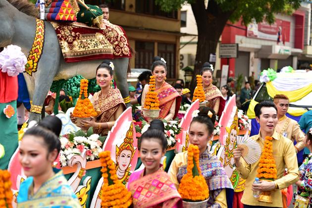 Boun Pi Mai festival
