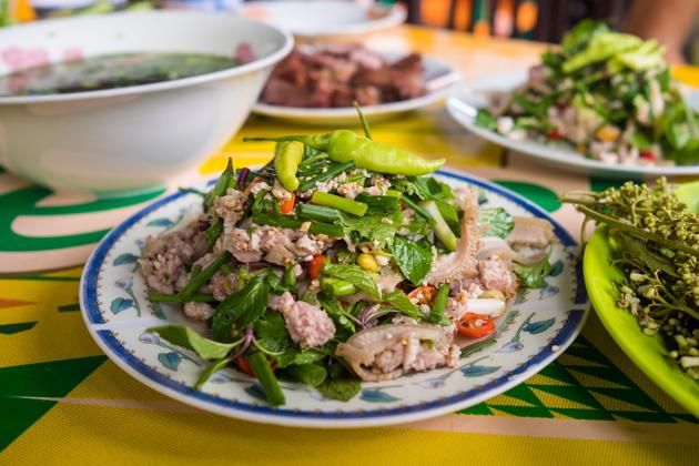 Laap laos cuisine