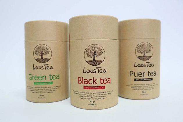 Laos black tea green tea puer tea