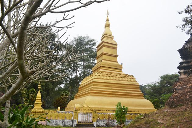 The That Phoum Pouk Phoum Pouk Stupa Luang Namtha Laos tours