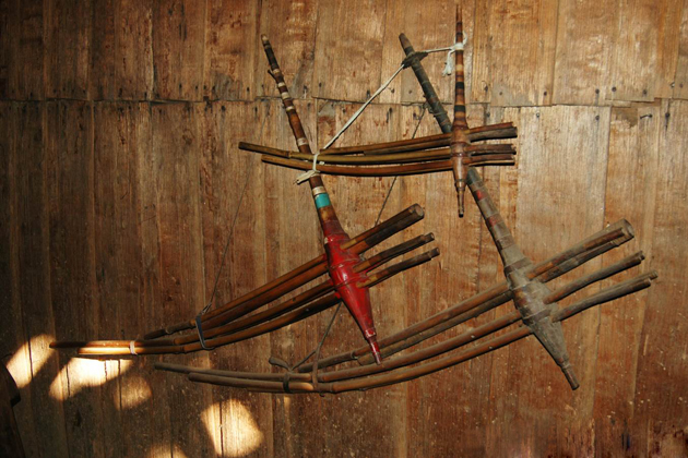 khaen laos musical instrument