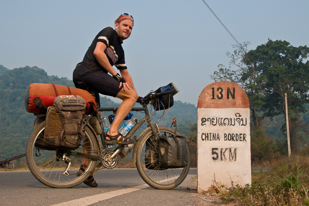 laos cycling tour in northern laos