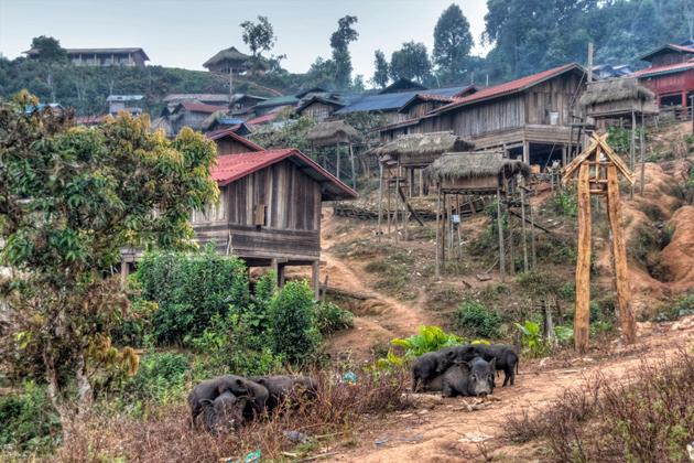 luang namtha village