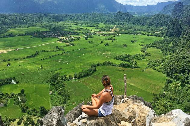 Pha-Paok-vang-vieng, Laos travel