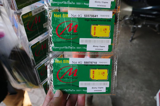 SIM Cards in Laos