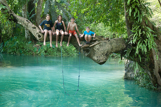 Vang-Vieng-Blue-Lagoon-The-Fresh-Natural-Lake, Laos trips