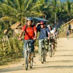 cycling in Laos