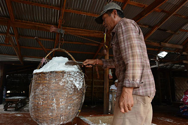 Ban Keun salt production