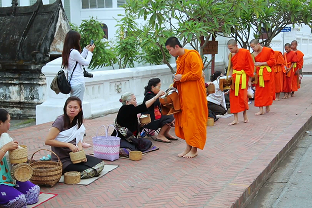 Do Not Touch the Monk in Laos
