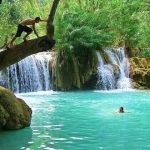 Kuang Si Waterfall in Luang Prabang, Laos Tours