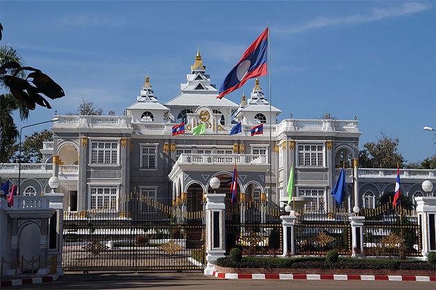 The Presidental Palace vientiane tours