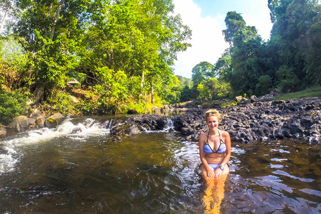 Walk Around with a Bikini is Taboo in Laos