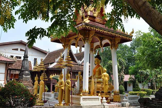 Wat Si Saket, Vientiane tour