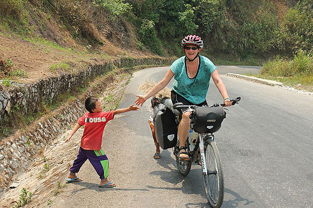 laos biking tours