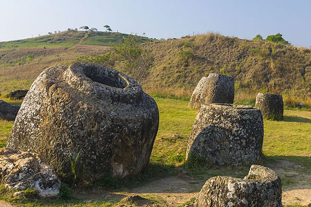 plain of jars world heritage sites in Laos