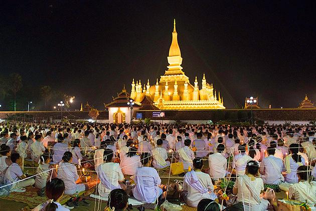 that luang festival laos festival