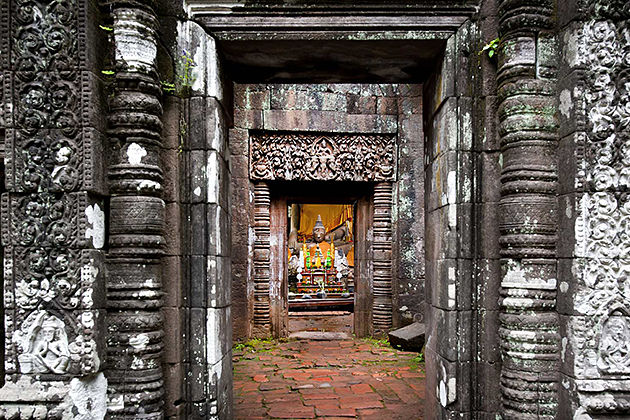 wat phou world heritage sites in Laos