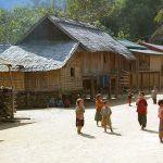 Ethnic viallage in Laos, Travels in Laos