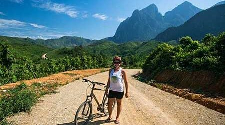 Houeixai to Luang Prabang Cycling Tour – 5 Days