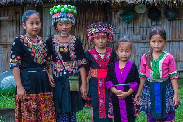 Laos Village, Laos local tour