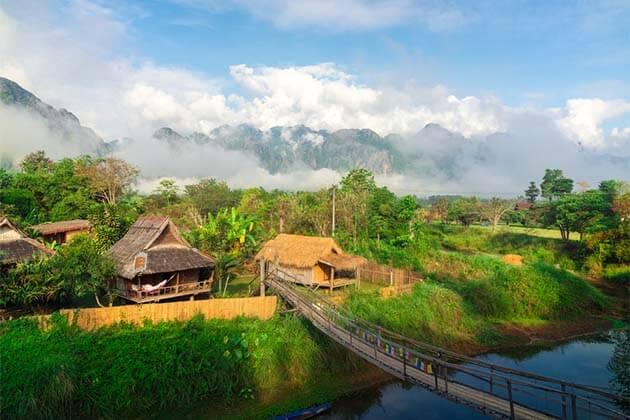 Luang Prabang Villages, Cycling and Trekking in Luang Prabang