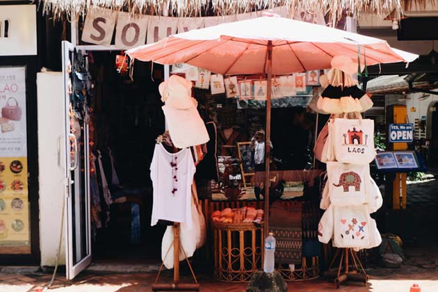Shop in Luang Prabang