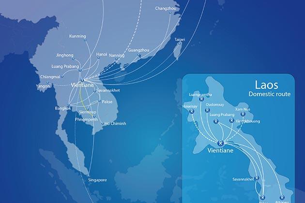 laos airline destinations