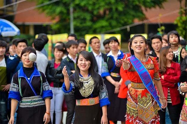 Hmong New Year in Laos 2019