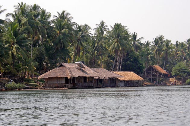 the Impressive Villages in Khong Island