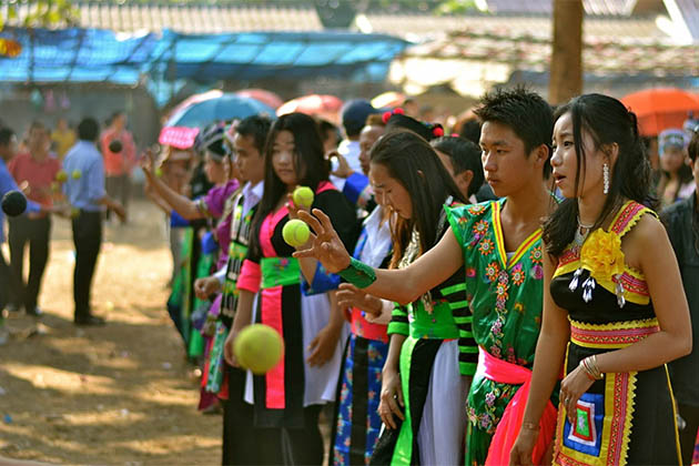 Celebrating Hmong New year 2019