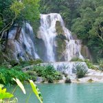 Kuang Si Waterfall, Laos Vacation Trips