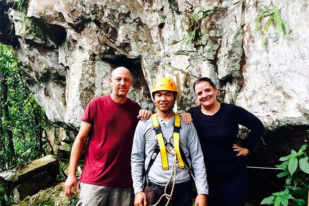 Feedback of Mrs. Oliver on Laos Tour