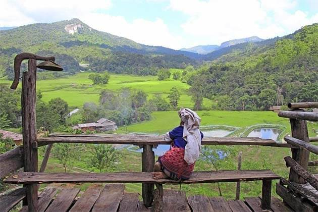 Luang-Namtha, Trip in Laos