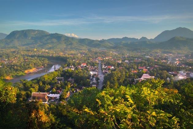 Phousi-Hill in Luang Prabang