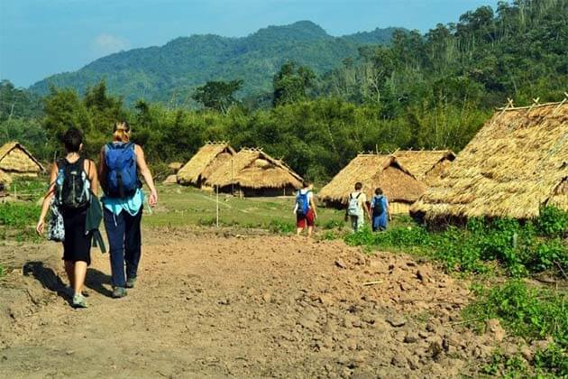 Trekking-in-Luang-Nam-Tha, travel in Laos