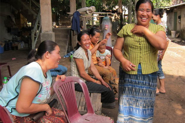 Good Sense of Humor in Laotian