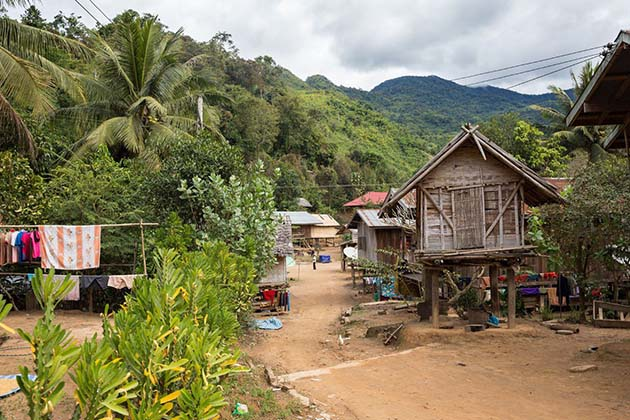 Ban Somjam Village, Laos holiday