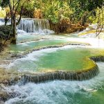 Kuang Si water fall, Laos Vacations
