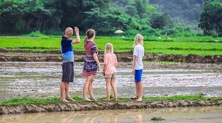 Laos Family Classic Tour – 5 Days