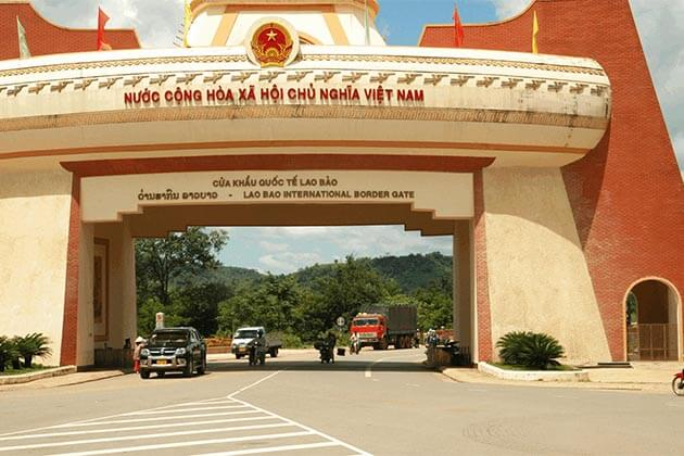 Laos-Vietnam-Border